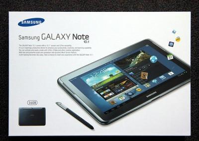 Galaxy Note 10.1 Verpackung